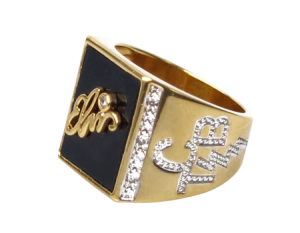 Replica of Elvis' Signature Ring