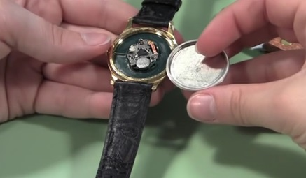 Watch Case Back Installation