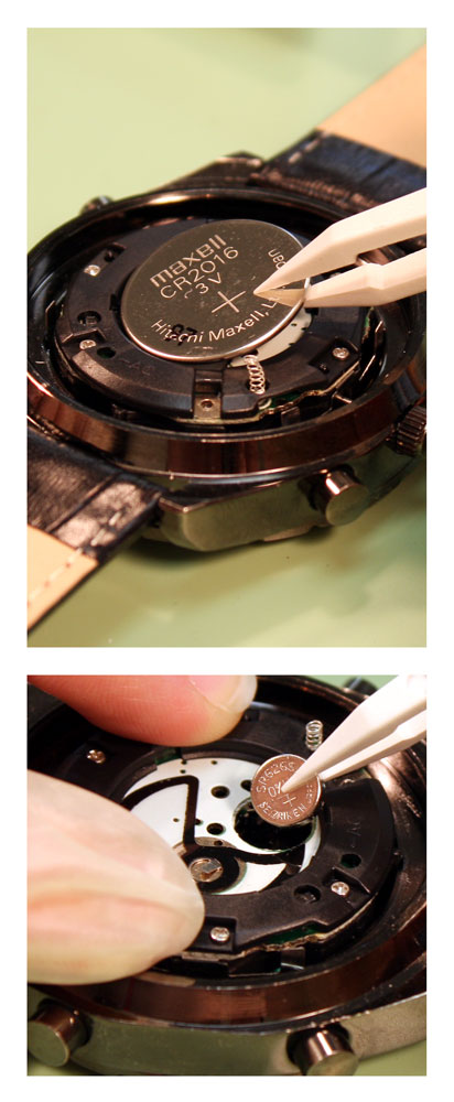 How to change watch batteries watch battery identification guide instructions watch for Watches battery