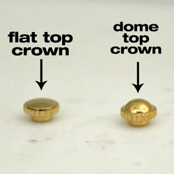 Crown.flat-or-domed-crown-dustproof
