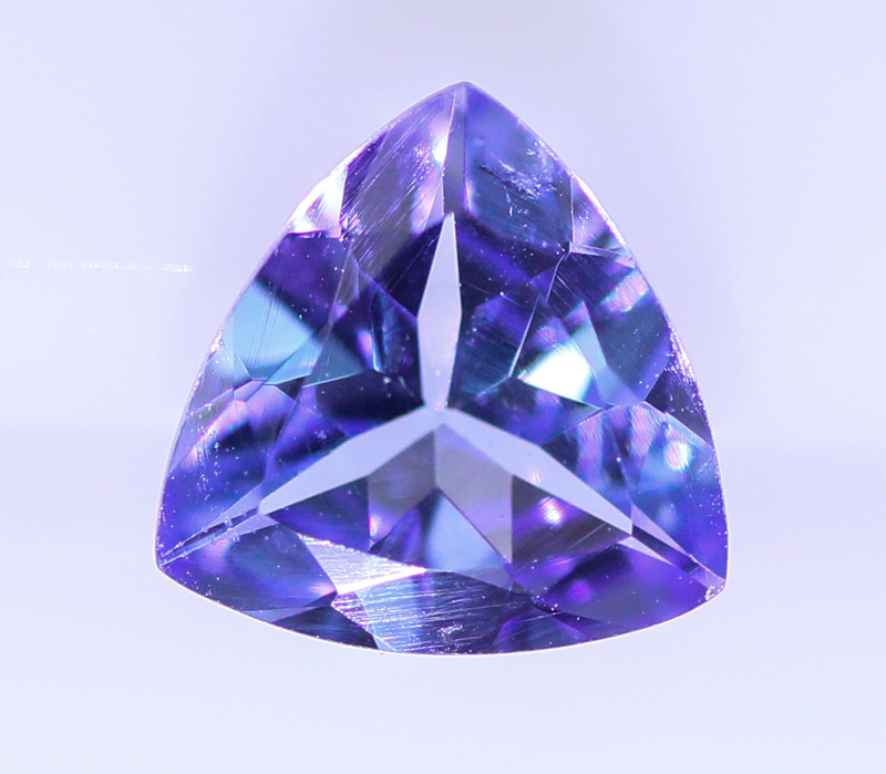 Blue Purple Gemstone