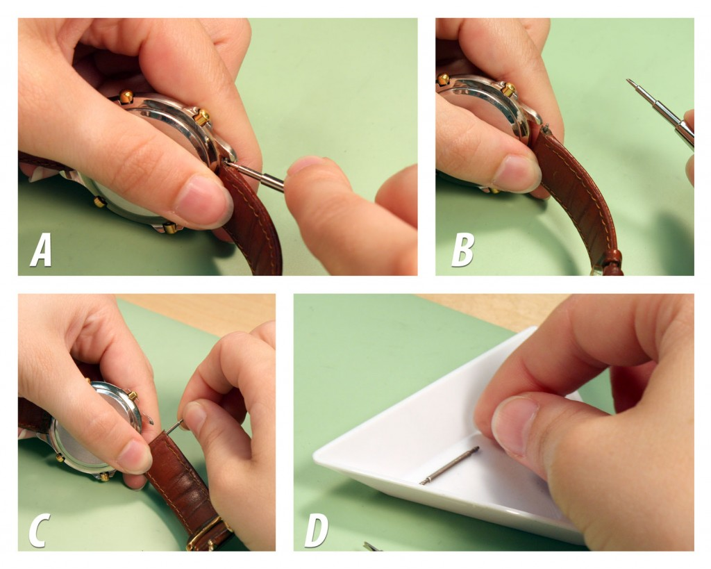 Change a Leather Watch Band_step2