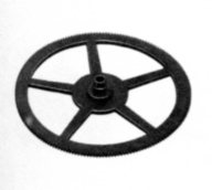 35.37 (8607) Driving wheel for minutes totalisator wheel of hour counter