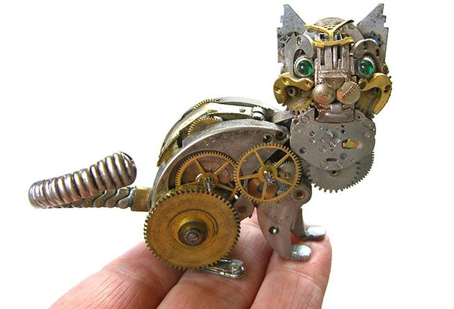 Steampunk Watch Art