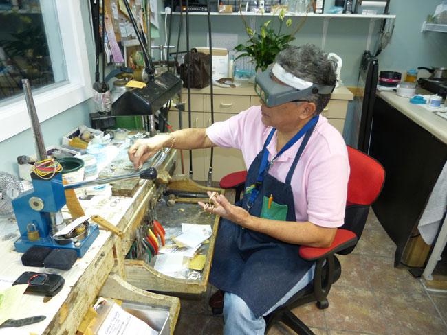 Bench Jeweler Watch Maker Tampa