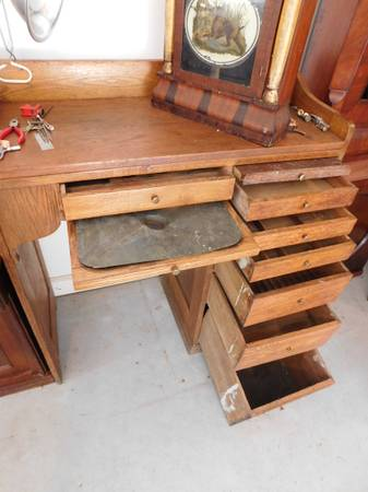 Vintage Jewelers Watchmakers Desk For Sale Norcross