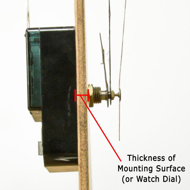 Quartz Clock Movement Dial