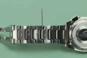 watch bracelet pin sleeve