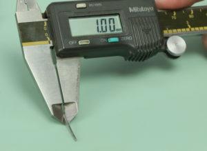 measure watch band pin