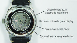 custom made watch