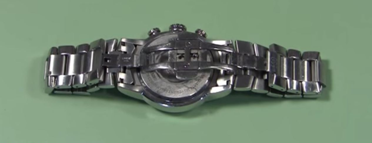 watch clasp how to open