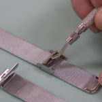 How to Make a Mesh Style Metal Watch Band Shorter
