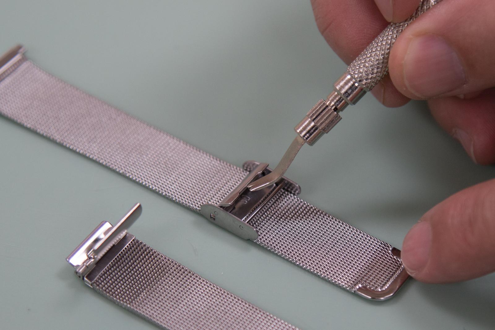 f82b69bf563 Adjust Mesh Style Metal Watch Bands - Shorten Mesh Watch Bands ...