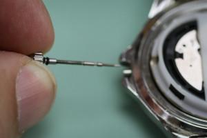remove watch crown waterproof