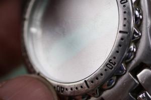 waterproof watch glass