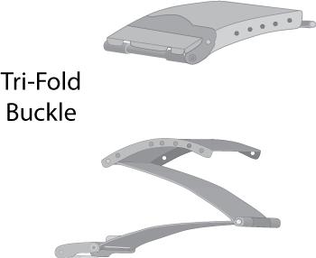 Tri-Fold-Buckle