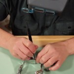 How to Replace a Tri-Fold Style Watch Band Clasp with Push Buttons