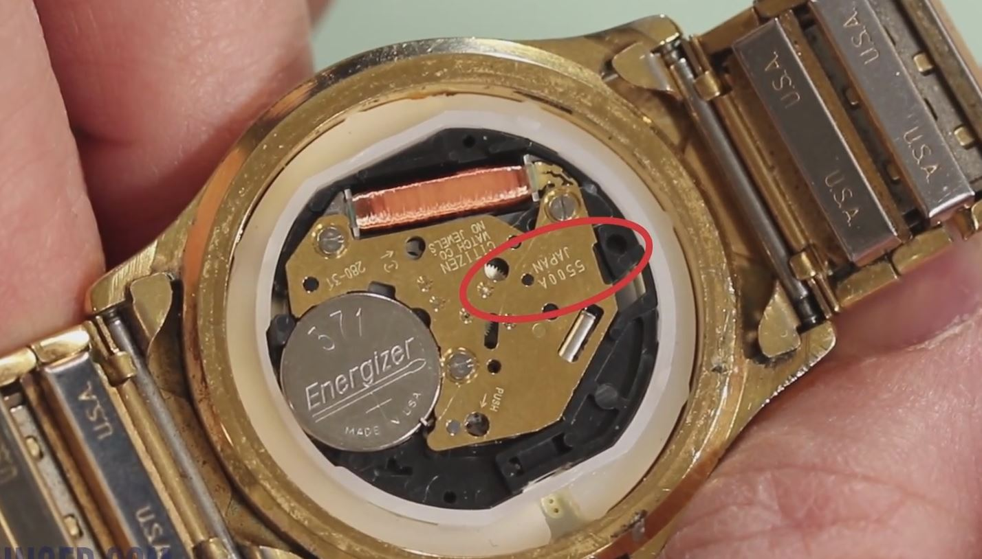 How To Replace A Watch Stem Esslinger Watchmaker Supplies Blog Vintage Diagram Together With Parts Step 2
