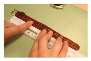 Measure a Watch Band