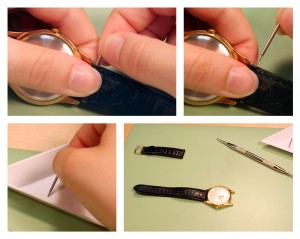 Change a Leather Watch Band_step3