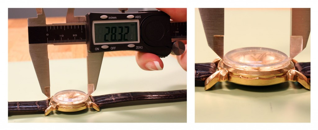 Measure a Watch Crystal_step2