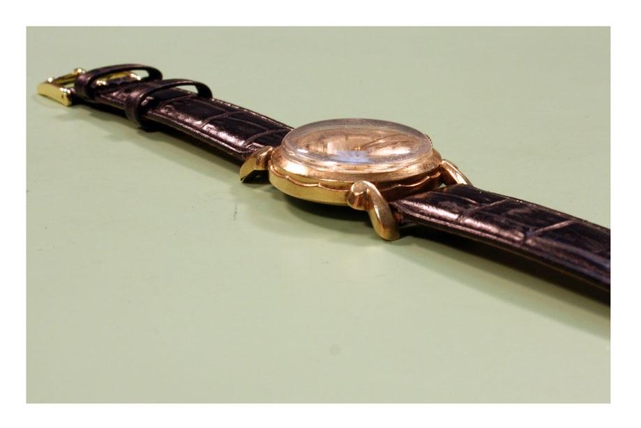 Plastic watch crystal measure