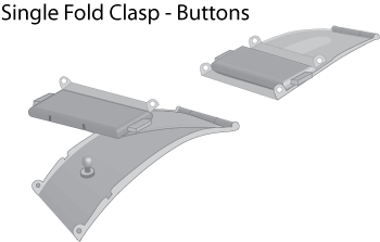 single-fold-clasp-buttons