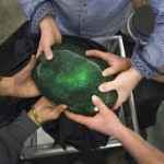 "Auctioning off the ""World's Largest Emerald"""