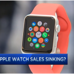 Apple watch sales drop 90%