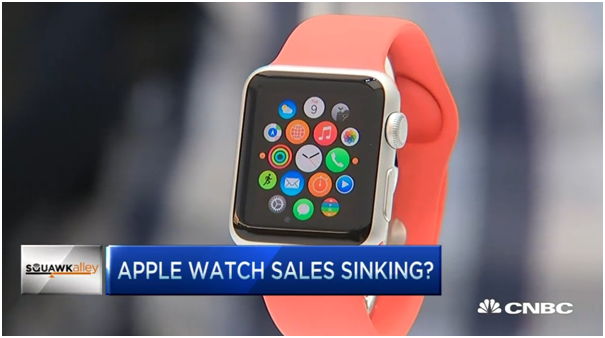 Apple Watch sales plunge 90%
