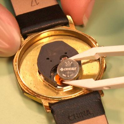 How To Replace a Watch Battery