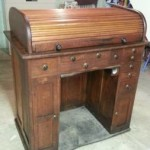 Antique Oak Roll Top Watchmaker's Bench On Sale (Bloomington-Normal, IL)