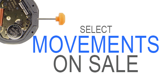 Select watch movements on Sale.