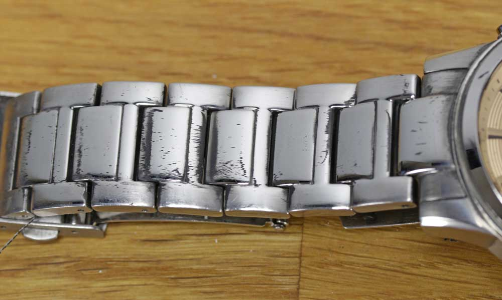Polishing A Stainless Steel Watch Case