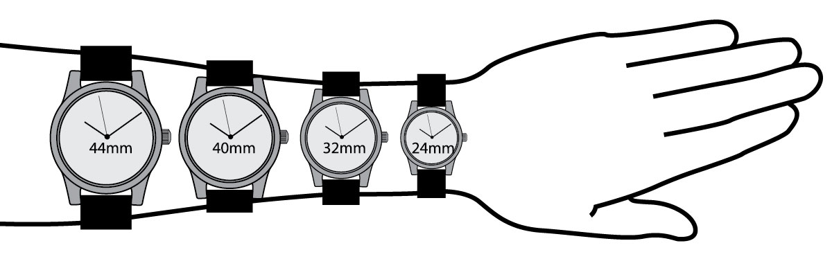 Watch Sizing Guide Find Your Right Watch Size Esslinger