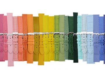 Leather Watch Bands in All Colors