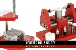 Horotec Watchmaking Tools For Watchmakers