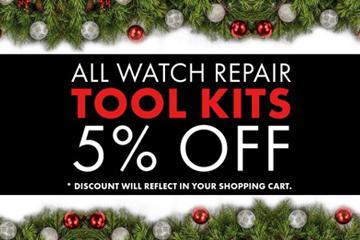 watch tools, watch repair kit, set of watchmaker tools